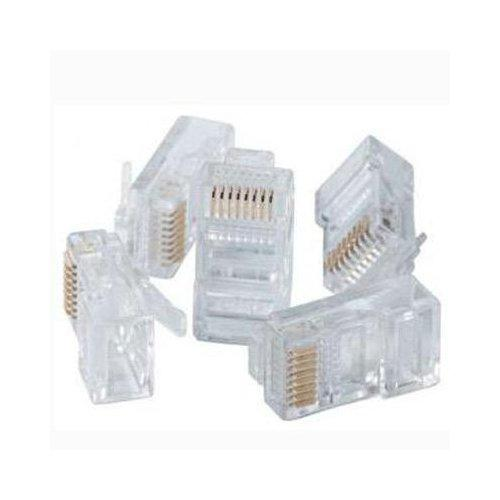 Connectors 8P8C RJ45 for network cable Cat5e or Cat6 - 10pk - 89-0012 - Mounts For Less