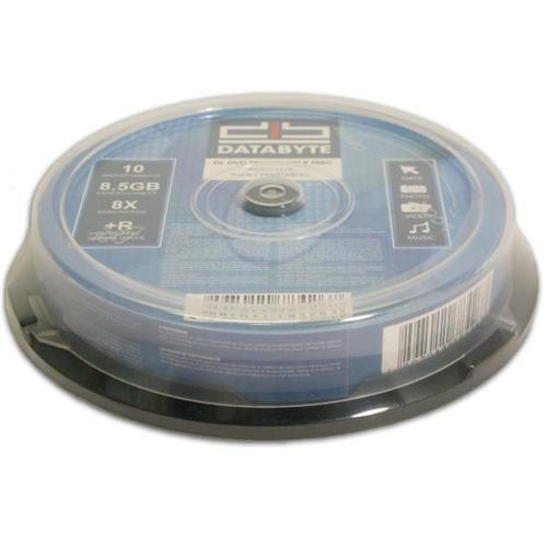 image about Printable Dvd Rs identify Databyte Printable Twin Layer DVD+Rs