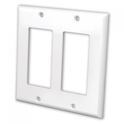 DECORA Wallplate White - 2 Bays - 05-0108 - Mounts For Less