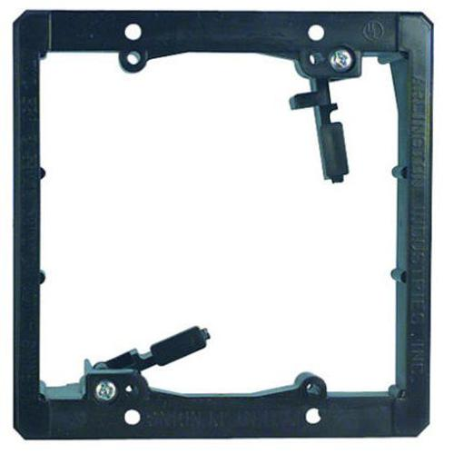 Double Gang Old Work Low Voltage Mounting Bracket - 05-0025 - Mounts For Less