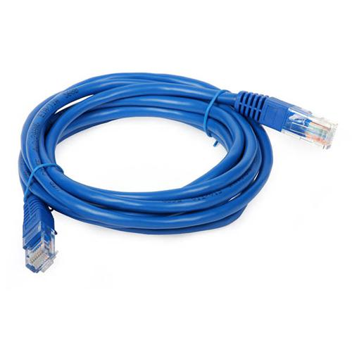 Ethernet cable network Cat5e RJ-45 200ft Blue - 89-0043 - Mounts For Less