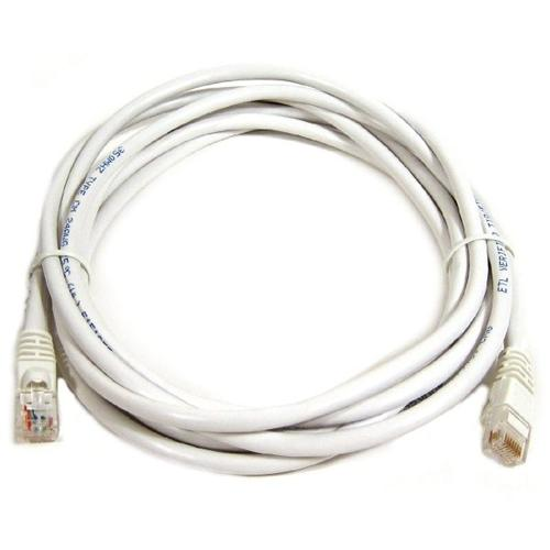 Ethernet cable network Cat6 500MHz RJ-45 3ft white - 89-0130 - Mounts For Less