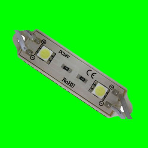GlobalTone 2 LED lights module IP65 Green 0.06A 0.72W - 75-0044 - Mounts For Less