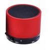 GlobalTone Bluetooth High Performance Portable Speaker + Micro SD Red - 60-0097 - Mounts For Less