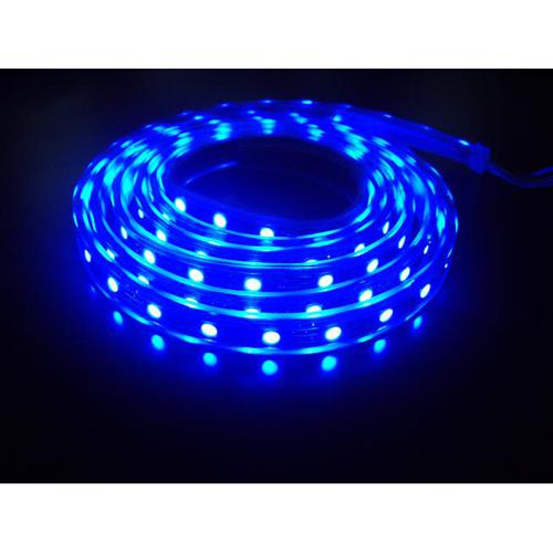 LED strips Blue waterproof 60 led/M 1M IP68 5050 14.4W - 75-0005 - Mounts For Less