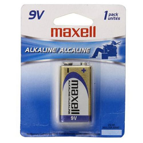 Maxell - 9v Alkaline Batterie, 1 Pack - 68-0011 - Mounts For Less