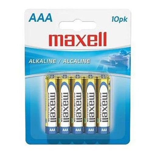Maxell - AAA Alkaline Batteries, 10 Pack - 68-0010 - Mounts For Less