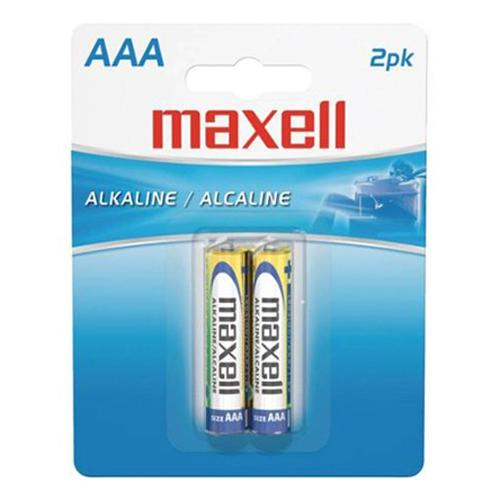 Maxell - AAA Alkaline Batteries, 2 Pack - 68-0020 - Mounts For Less