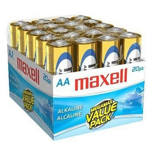 Maxell - AAA Alkaline Batteries, 20 Pack - 68-0017 - Mounts For Less
