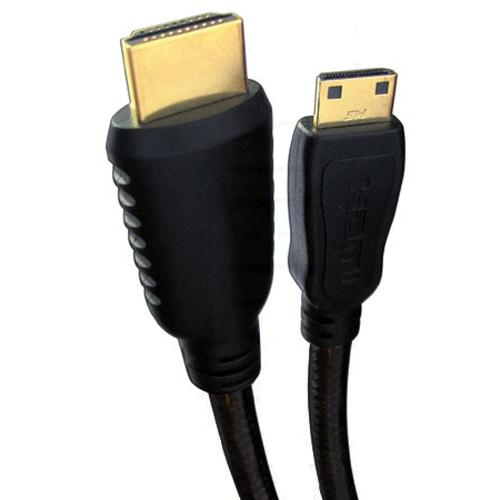 Mini-HDMI cable to HDMI 15 feet Gold Plated V1.3c full HD 1080p - 03-0033 - Mounts For Less