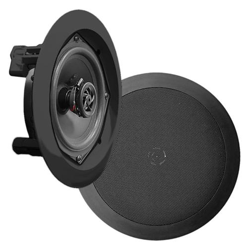 "Pyle 8"" In-Wall / In-Ceiling speakers 2 way / 1 Pair Black - 25-0032 - Mounts For Less"