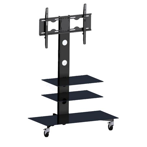 "Rolling TV Cart for LED PLASMA LCD 25"" to 55"" - 04-0218 - Mounts For Less"