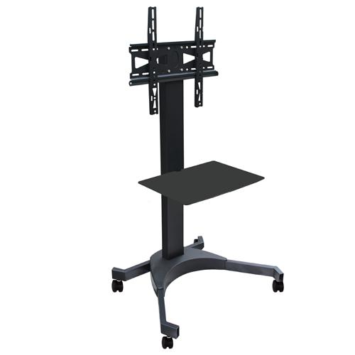 "Rolling TV Cart for LED PLASMA LCD 32"" to 55"" - 04-0156 - Mounts For Less"