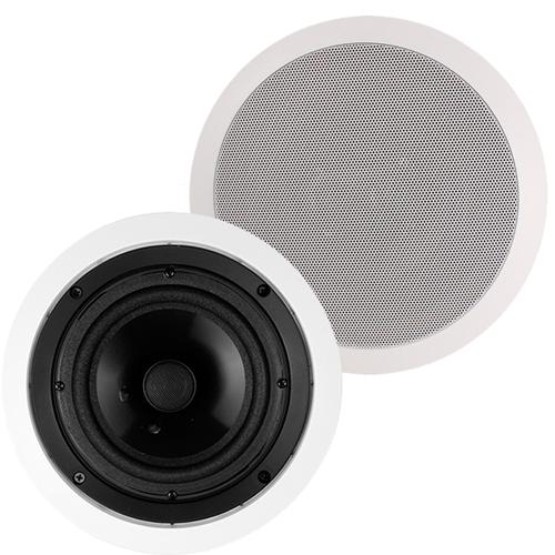 "Saga Contractor 2 Speakers 6.5"" 2-Way In-Ceiling Kevlar - 25-0030 - Mounts For Less"