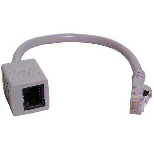 "TechCraft Converter Cat5e ""Straight Through"" to ""Crossover"" 8"" - 89-0123 - Mounts For Less"