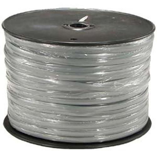 Telephone & alarm 6 conductors 1000ft Silver Satin - Spool - 89-0325 - Mounts For Less