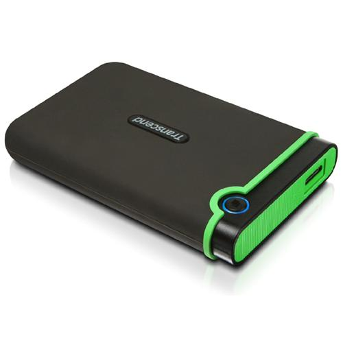 Transcend External Hard Drive Storejet 25M3 2.5'' USB 3.0 - 2 TB - 77-0076 - Mounts For Less