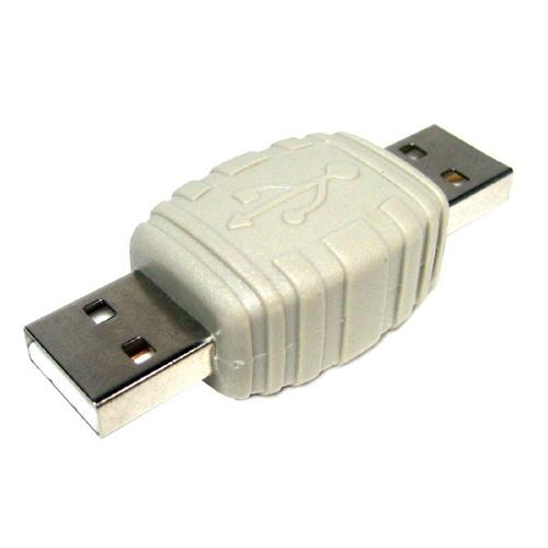 USB 2.0 coupler joiner with A Male to A Male connectors - 03-0125 - Mounts For Less