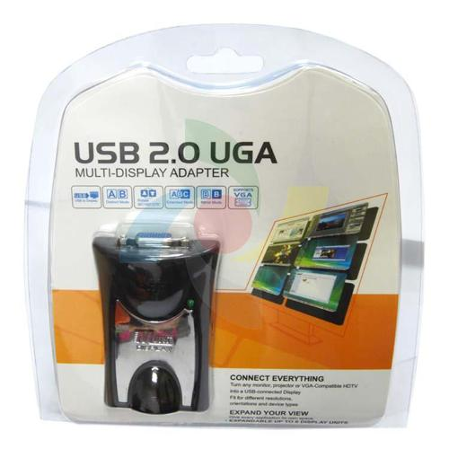 USB 2.0 to VGA HDTV resolution up to 1920x1080 32 bits - 05-0090 - Mounts For Less