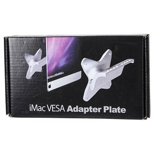 VESA iMac adapter max 75X75 mm - Silver - 04-0140 - Mounts For Less