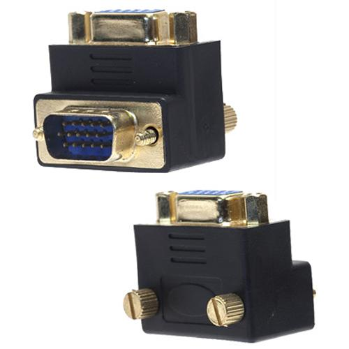 VGA adapter Male / Female at 90 degrees - 12-0011 - Mounts For Less