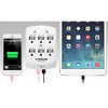Xtreme Wall Surge Protector 6 outlets 300J + 2 USB ports 2.1A White (XWS8-0104-WHT) - 78-117706 - Mounts For Less