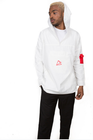 PULLOVER JACKET // WHITE