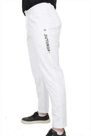 SUIT PANTS // WHITE