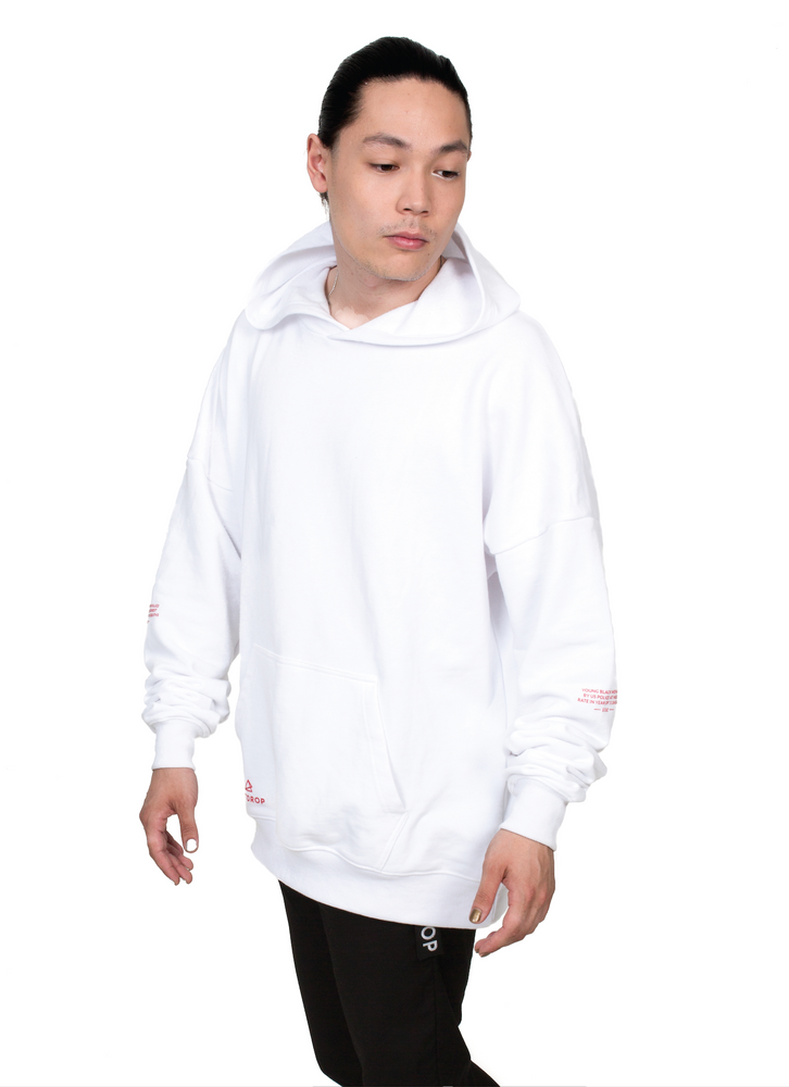COLLECTION HOODIE // WHITE