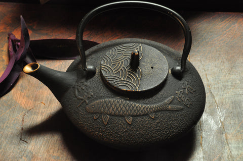 Koi Fish (Cast Iron Teapot)