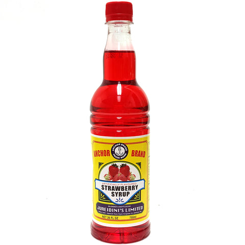 Anchor Brand STRAWBERRY Syrup 26oz