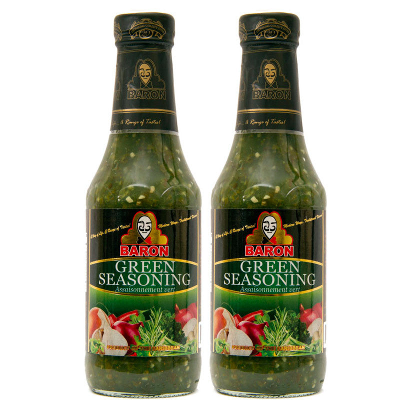 Baron Green Seasoning 14oz 2-Pack