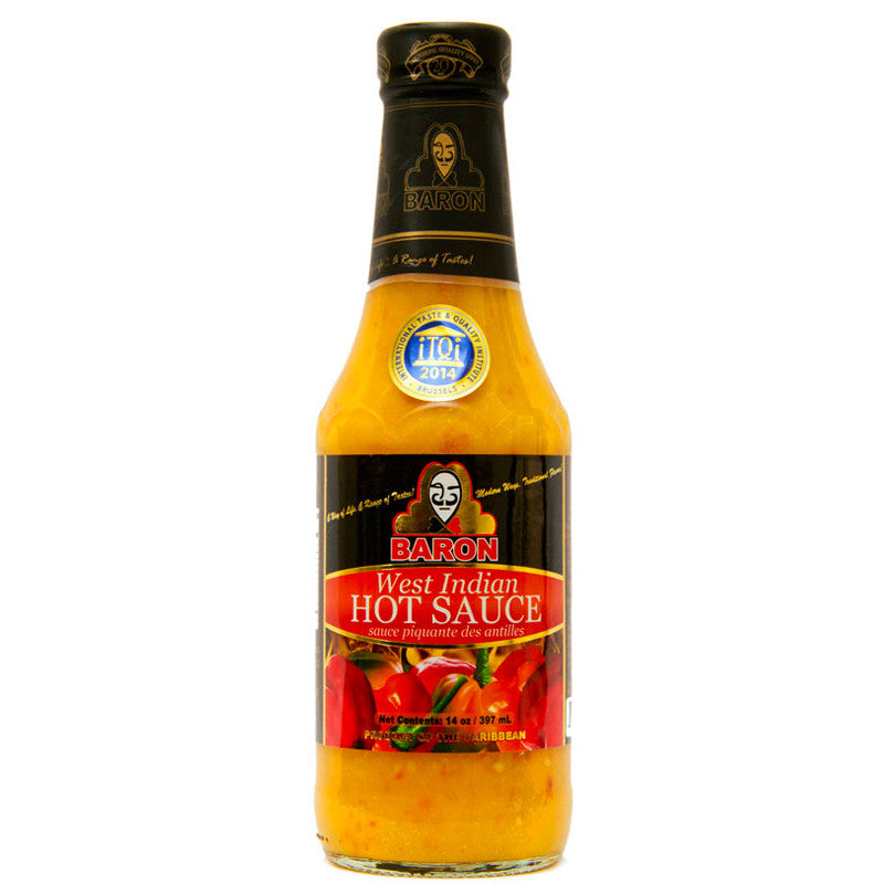 Baron West Indian Hot Sauce 14oz