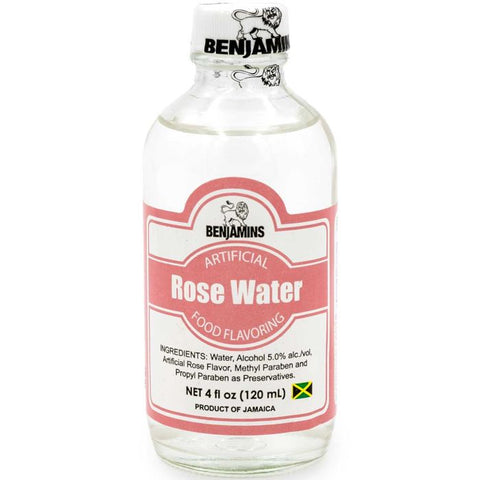 Benjamin's Rose Water 4oz