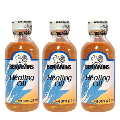 Benjamins Healing Oil 2oz 3-Pack
