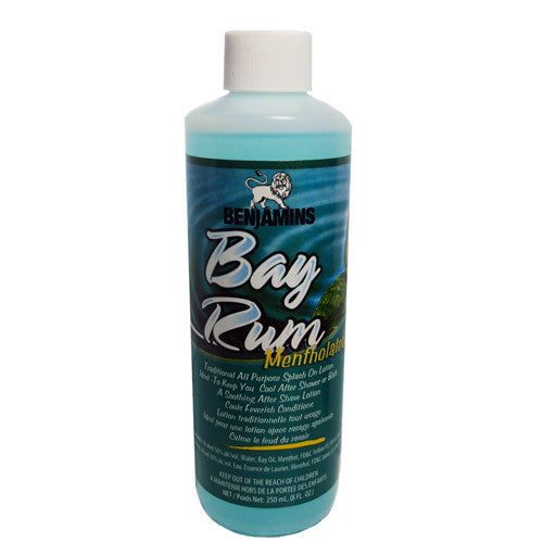 Benjamins Mentholated Bay Rum 8oz
