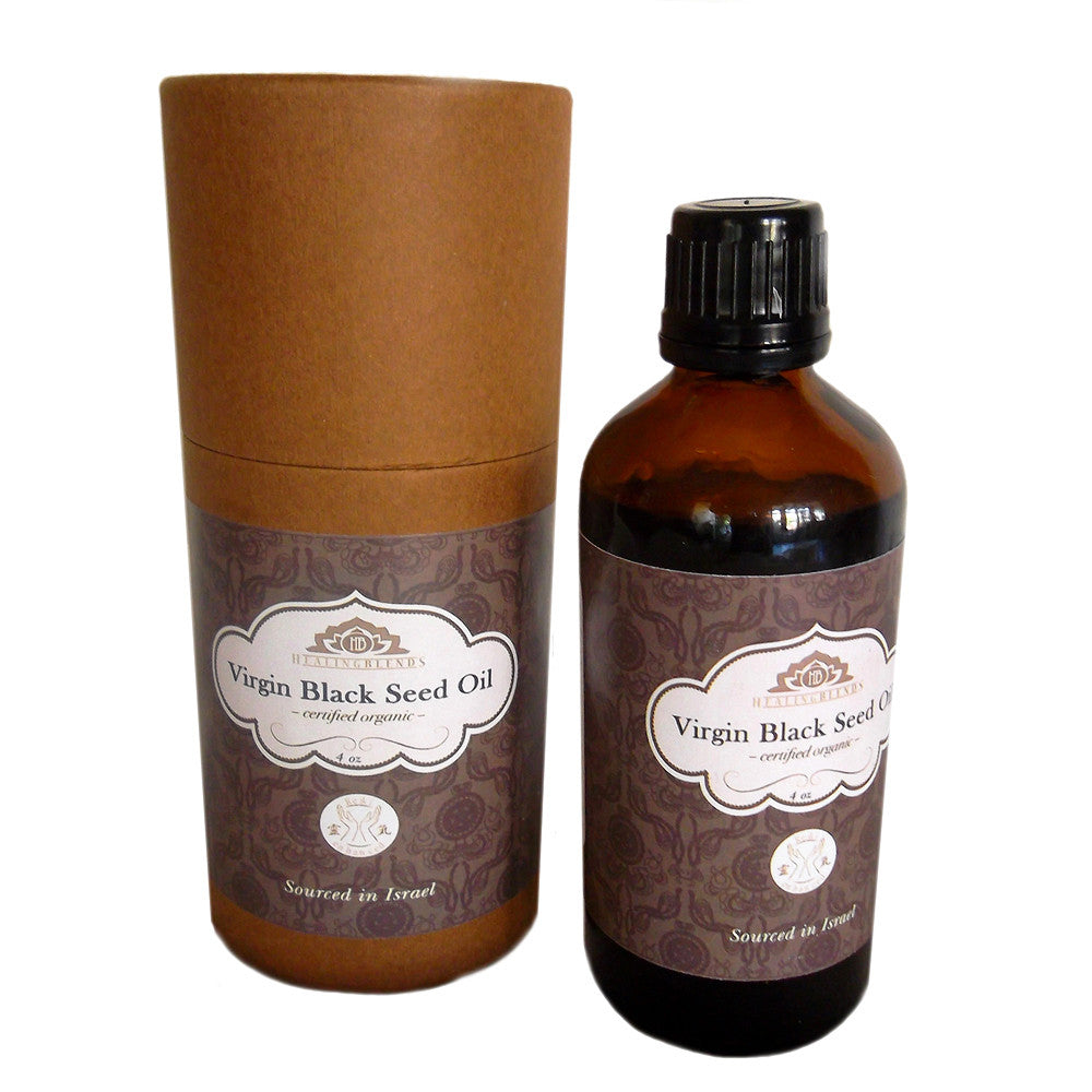 Black Seed Oil - Black Cumin Oil Virgin and 100% Organic 4oz