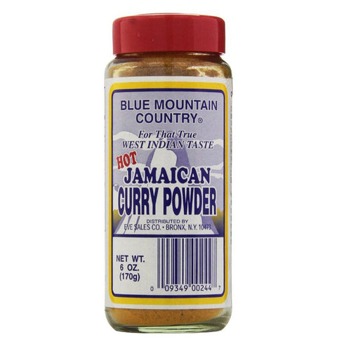 Blue Mountain Country HOT Jamaican Curry Powder 6oz