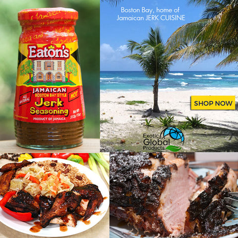 Eaton's Jamaican Boston Bay Style Jerk Seasoning 11oz