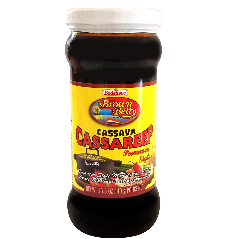 Brown Betty Cassava Cassareep Pomoroon Style 15.5 Fl Oz.
