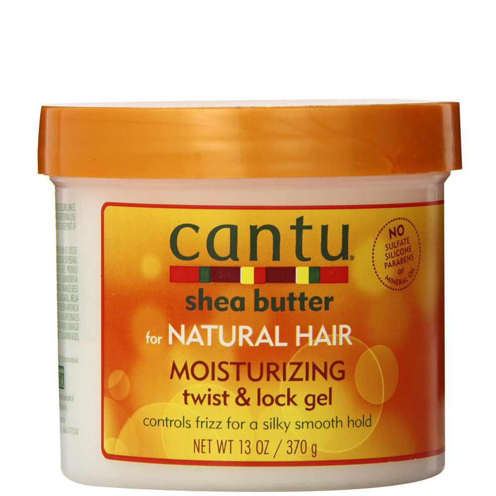 Cantu Shea Butter Moisturizing Twist & Lock Gel 13oz