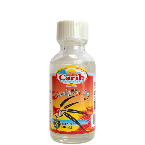 Carib 100% Pure Eucalyptus Oil 1oz (30 mL)