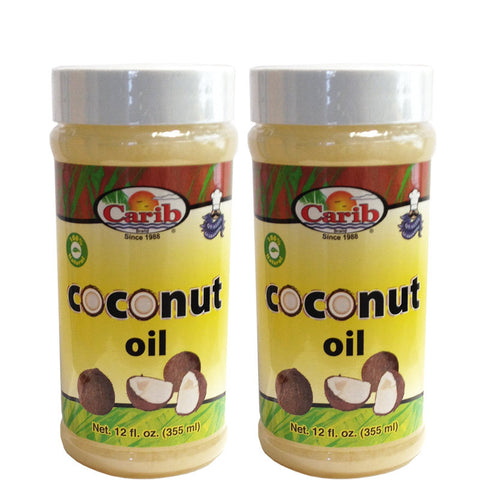 Carib Coconut Oil 12oz (Pack of 2)