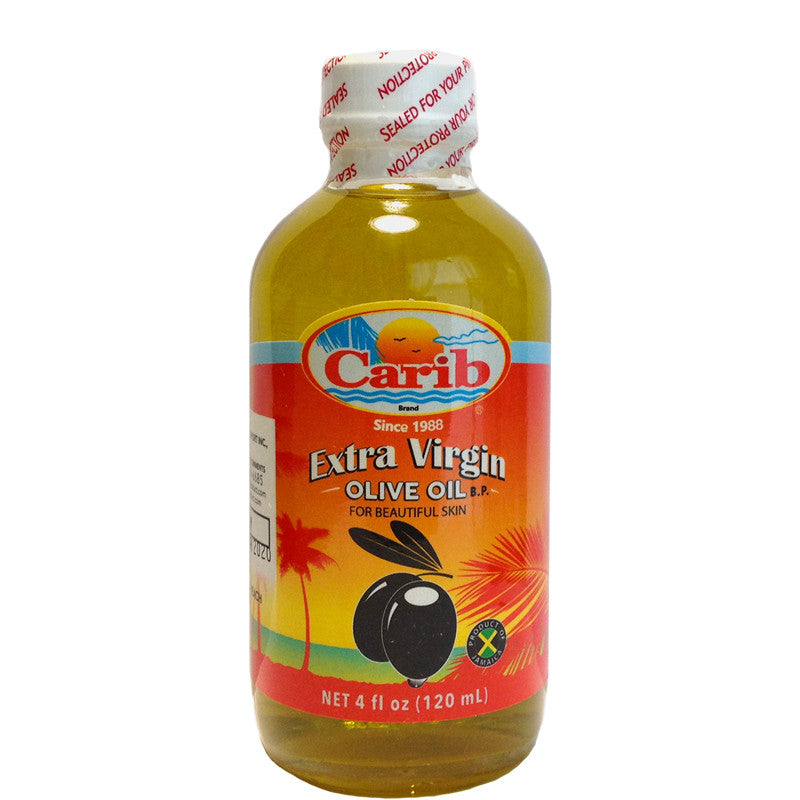 Carib Extra Virgin Olive Oil 4oz (120mL)