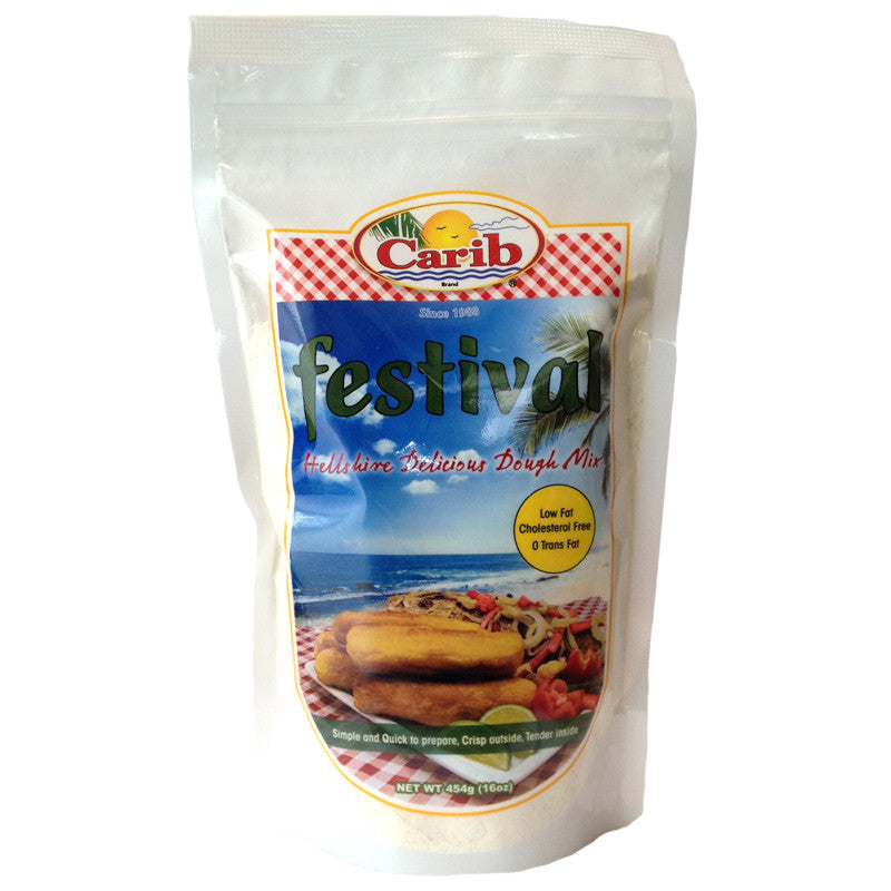 Carib Festival Hellshire Delicious Dough Mix 16oz