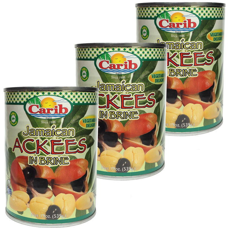 Carib Jamaican Ackees 19oz (Pack of 3)