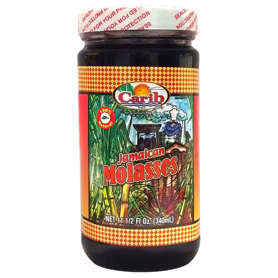Carib Jamaican Molasses 11.5 Fl Oz.
