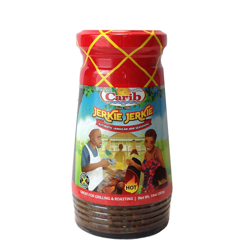 Carib Jerkie Jerkie Traditional Jamaican Jerk Seasoning 10oz