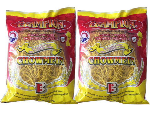 Champion Chow Mein 12oz/340g Economy 2-Pack