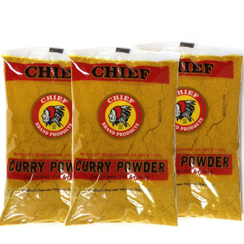Chief Curry Powder 8.1oz (3-Pack)